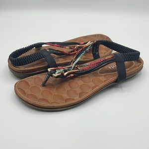 """Patrizia by Spring Step """"Taylor"""" Flat Sandals 41"""
